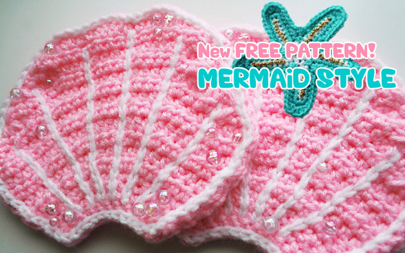 Gallery For > Free Baby Mermaid Crochet Pattern