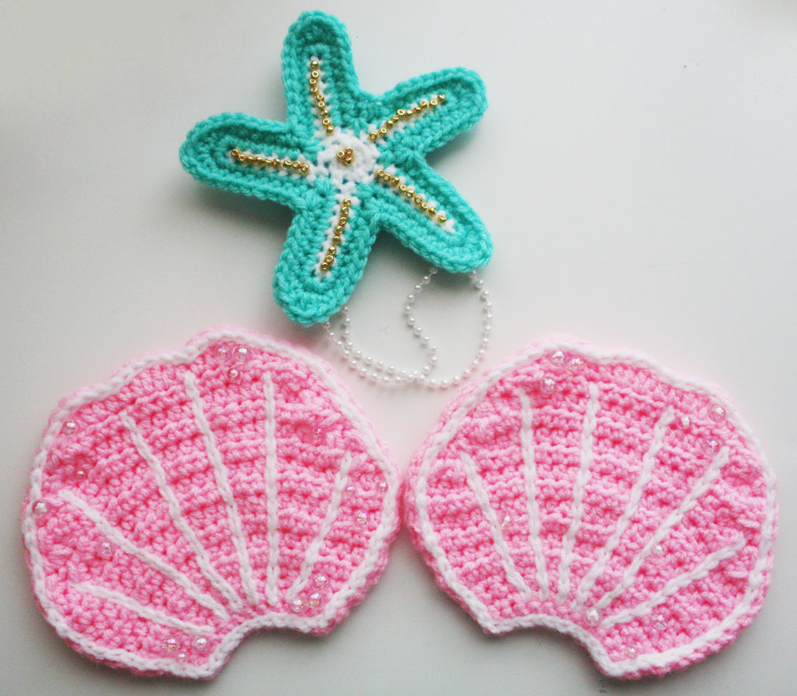 Pics Photos - Free Pattern Mermaid Style