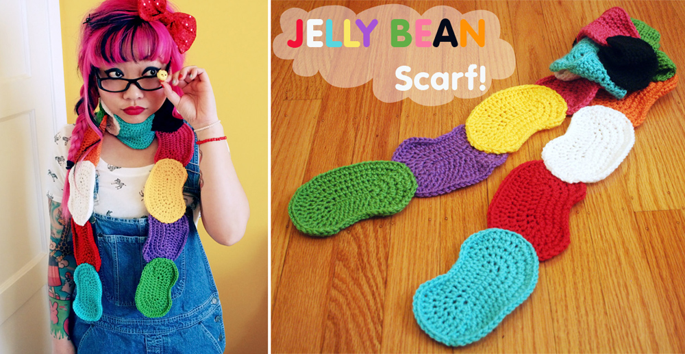 Jelly Bean Scarf