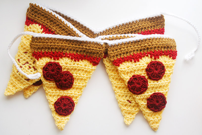 Pizza Garland Finished 4