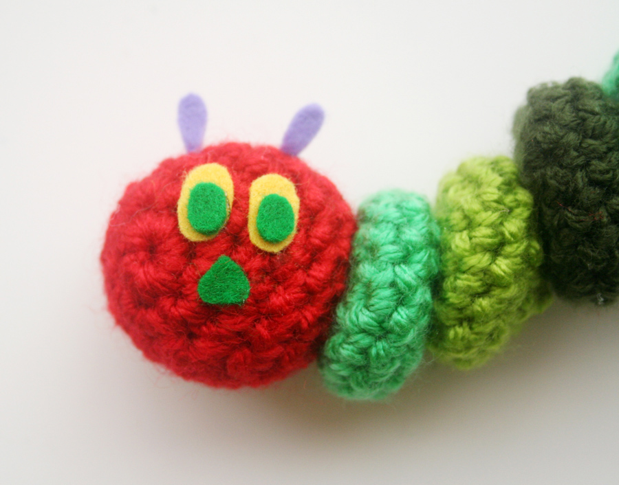 Wiwt Free Crochet Pattern The Very Hungry Caterpillar Twinkie