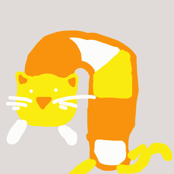 Candy Corn Kitty