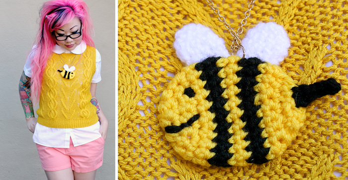 Free Crochet Pattern Wiwt Bee And Puppycat Twinkie Chan Blog