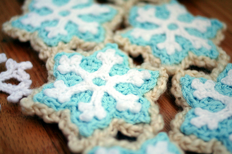 Crochet Patterns Michaels : Free Crochet Pattern at Michaels.com: Snowflake Sugar Cookie Scarf ...