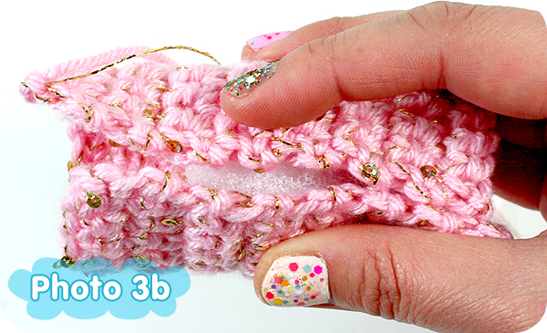 crochet how to keep solomans knots tight