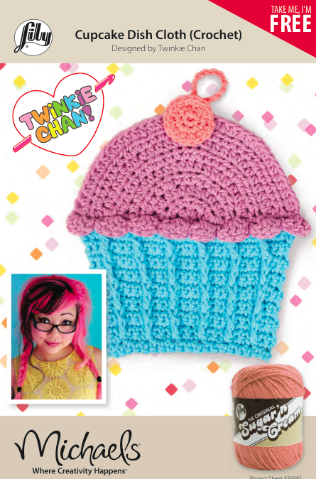 Lily Sugar And Cream Free Crochet Patterns : Me + Michaels + Lily Sugar ?n Cream = Free Crochet Pattern ...