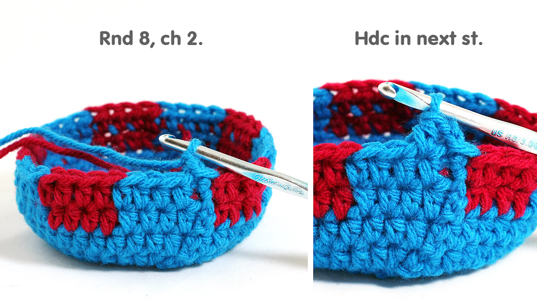Free Crochet Pattern: Slushee Cup Drawstring Bag | Twinkie Chan Blog