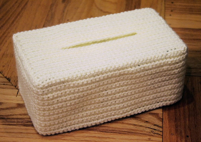 Free Crochet Pattern For Sofa Tissue Box Cover : Fotos - Crochet Tissue Kleenex Box Cover Pattern With ...