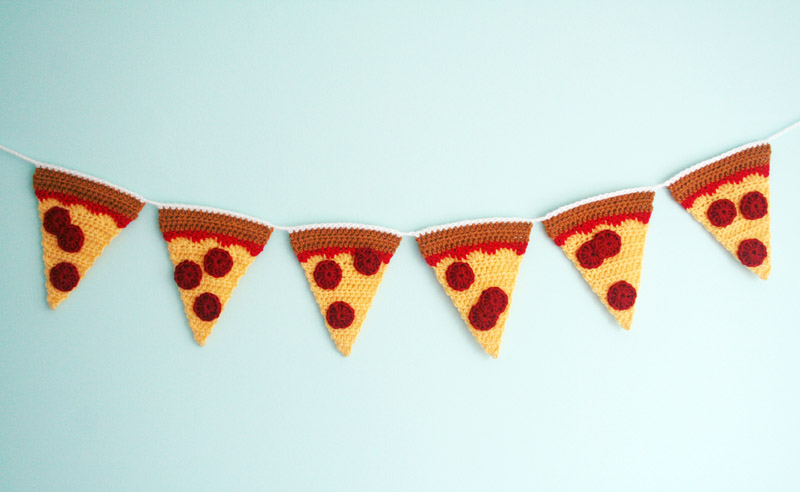 Pizza Garland Finished 1