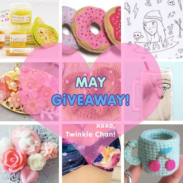 Giveaway may14