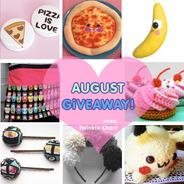 Giveaway August 14