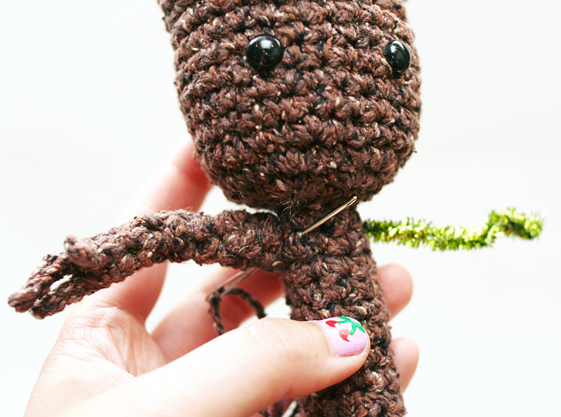Free Crochet Pattern Potted Baby Groot From Guardians Of The Galaxy