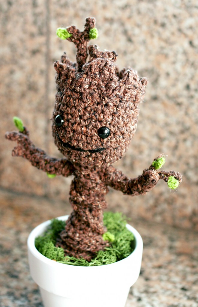 Grootorial: Make your own crochet potted baby Groot - Nerd ...