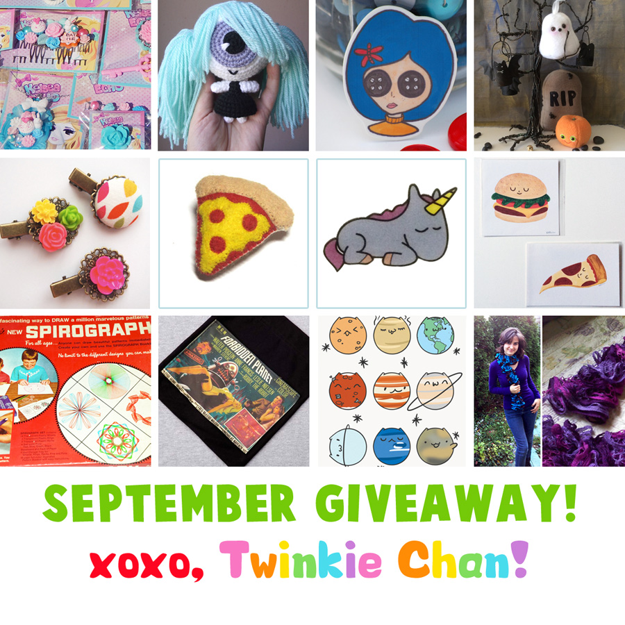 Giveaway September14