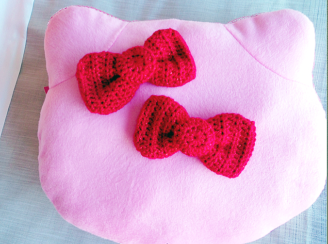 How To Crochet Hello Kitty Bag By Marifu6a Free Pattern Tutorial : hello kitty bow pattern Gallery