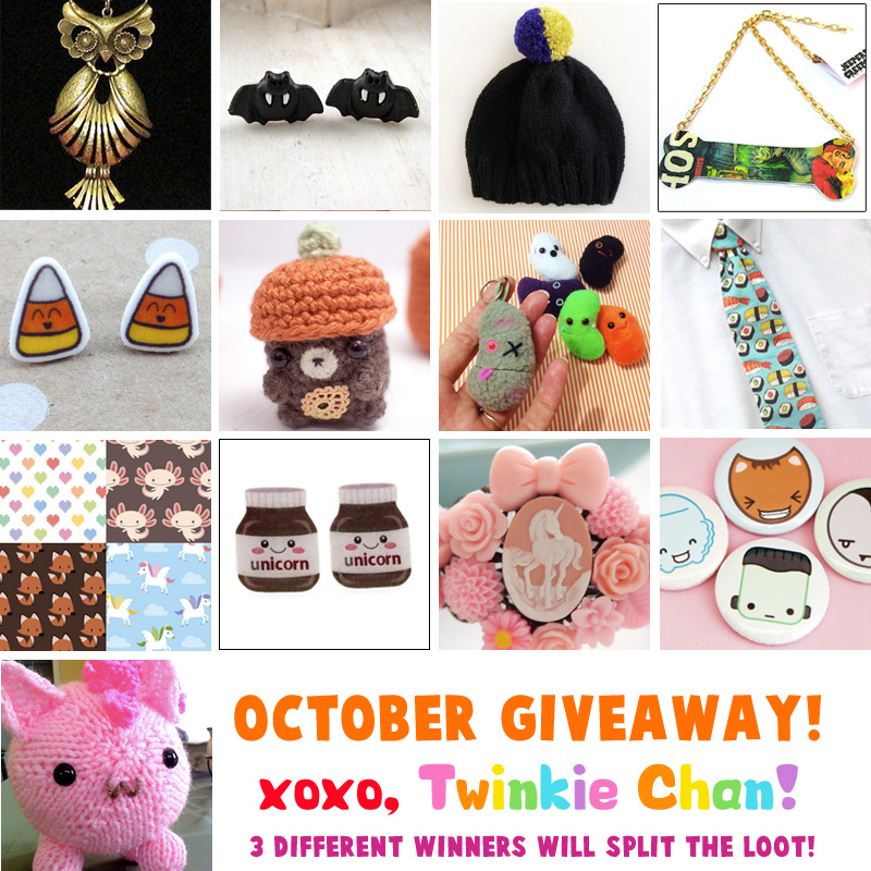 Giveaway Oct2014