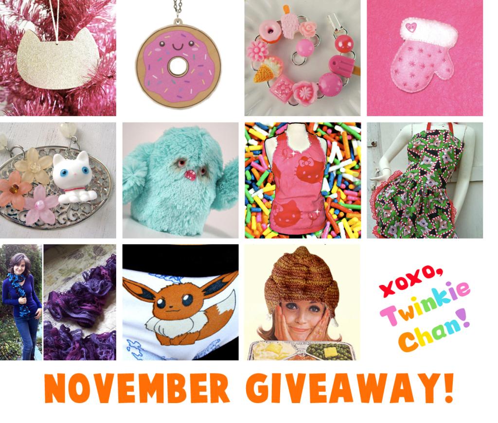 Giveaway Nov2014