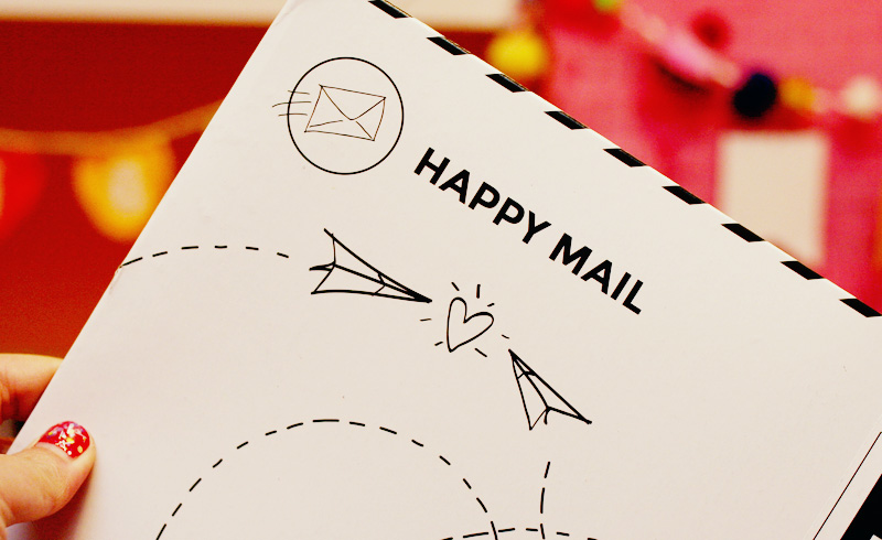 You've got HAPPY MAIL! | Twinkie Chan Blog