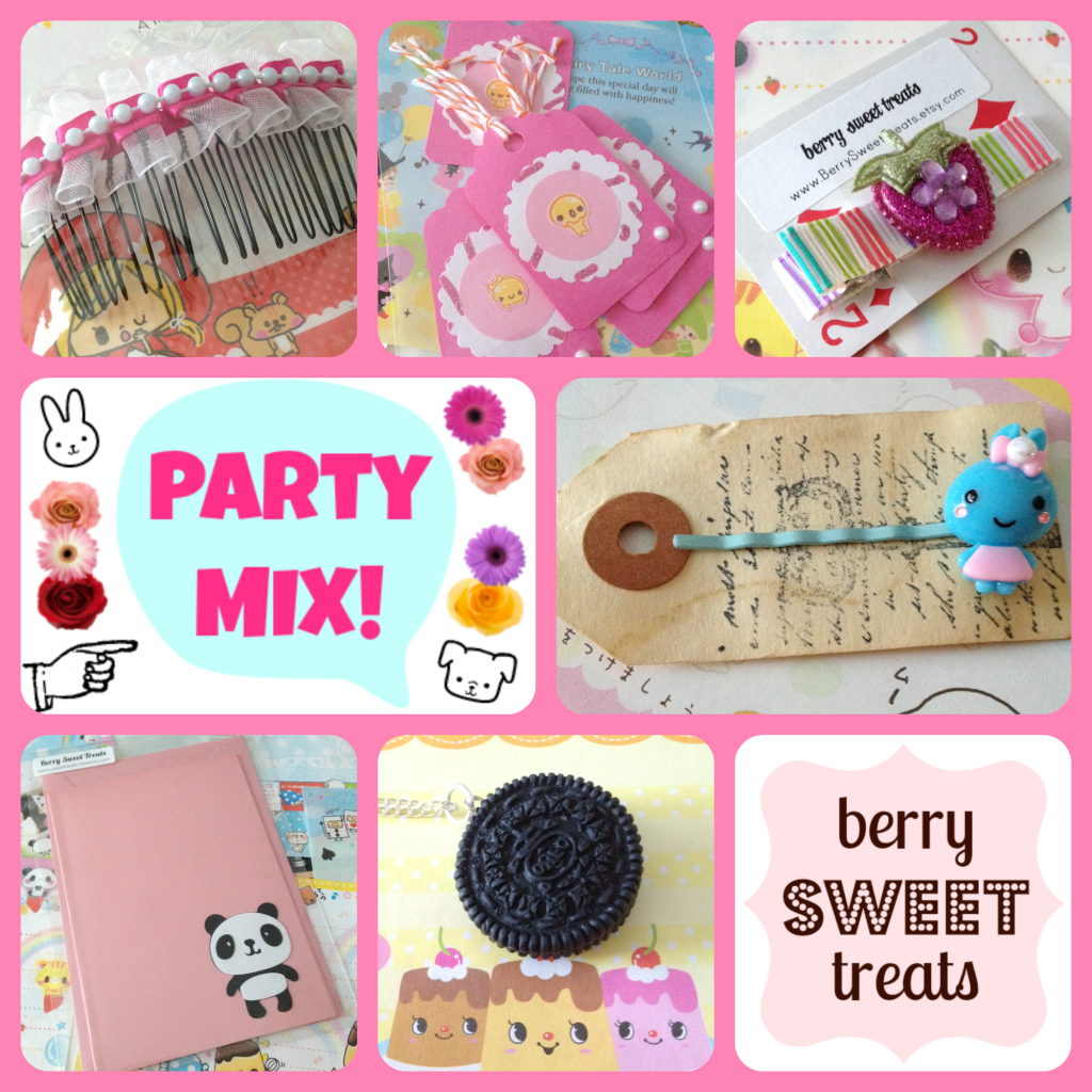 Berry Sweet Treats PARTY MIX - Twinkie Chan Jan 2015 Giveaway FULL