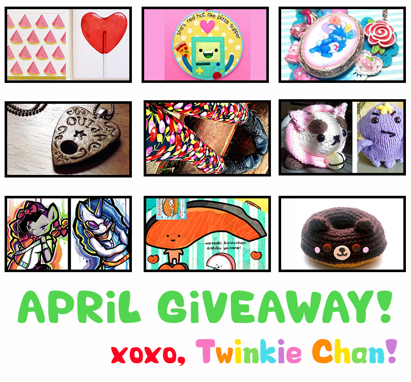 Giveaway APRIL2015
