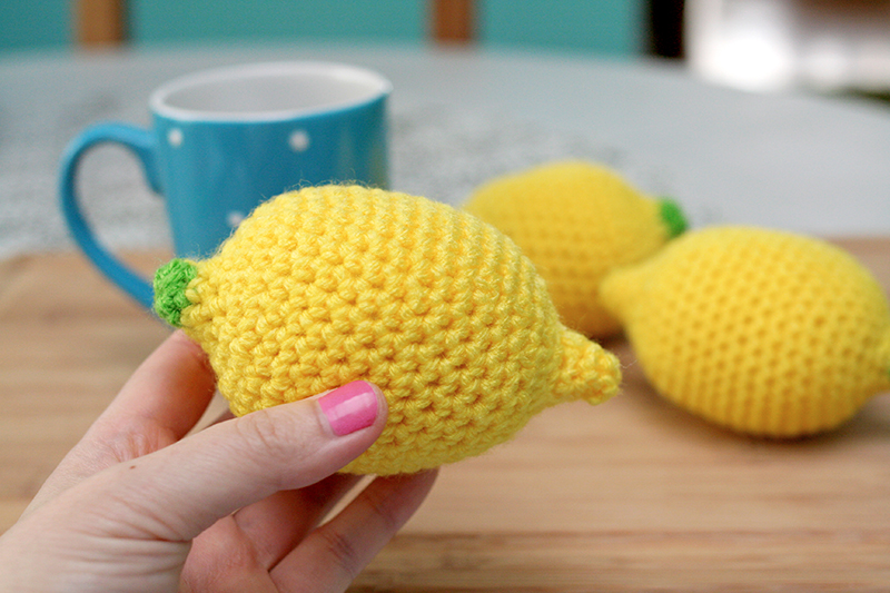 Free Crochet Pattern And Video Lemon Stress Ball Twinkie Chan Blog