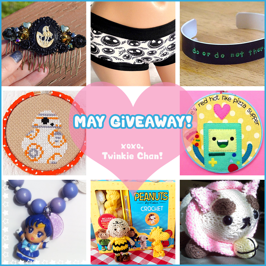 Giveaway May 2015
