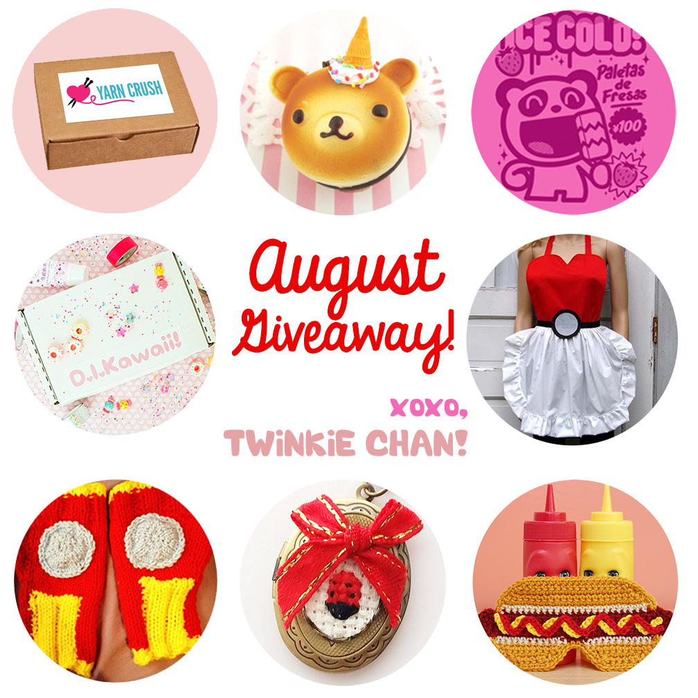 Giveaway August 2015