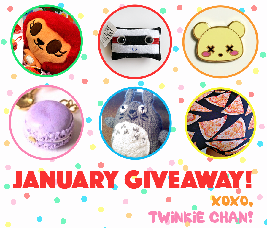 Giveaway January 2016