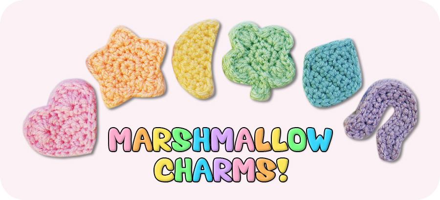 Marshmallow Charm sheet sprinkles