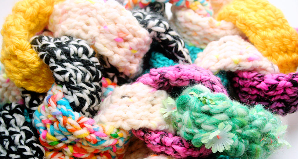 Free Crochet Pattern Video Easy Chain Link Scarf Twinkie Chan Blog