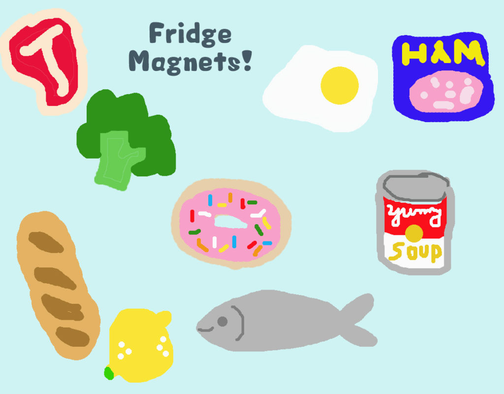 Project 02 - Grocery Fridge Magnets