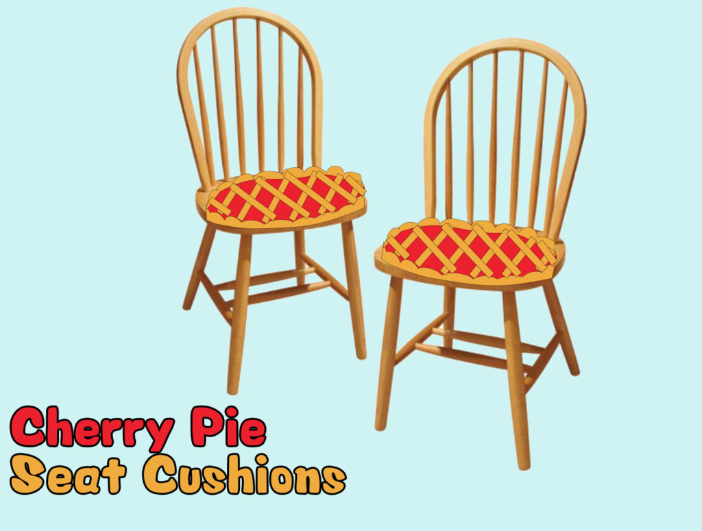 Project 05 - Cherry Pie Cushions