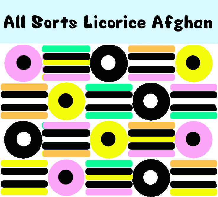 Project 09 - All Sorts Licorice Afghan