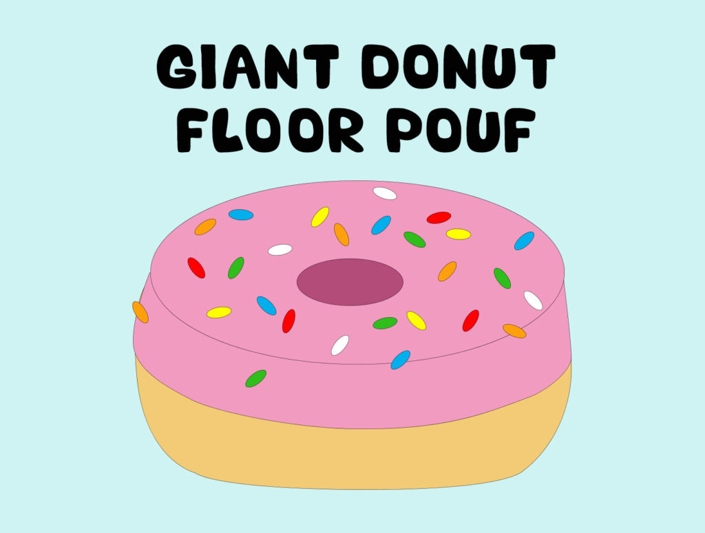 Project 10 - Giant Donut Floor Pouf