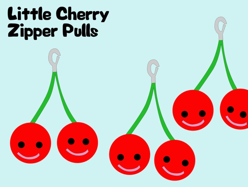 Project 14 - Little Cherry Zipper Pulls