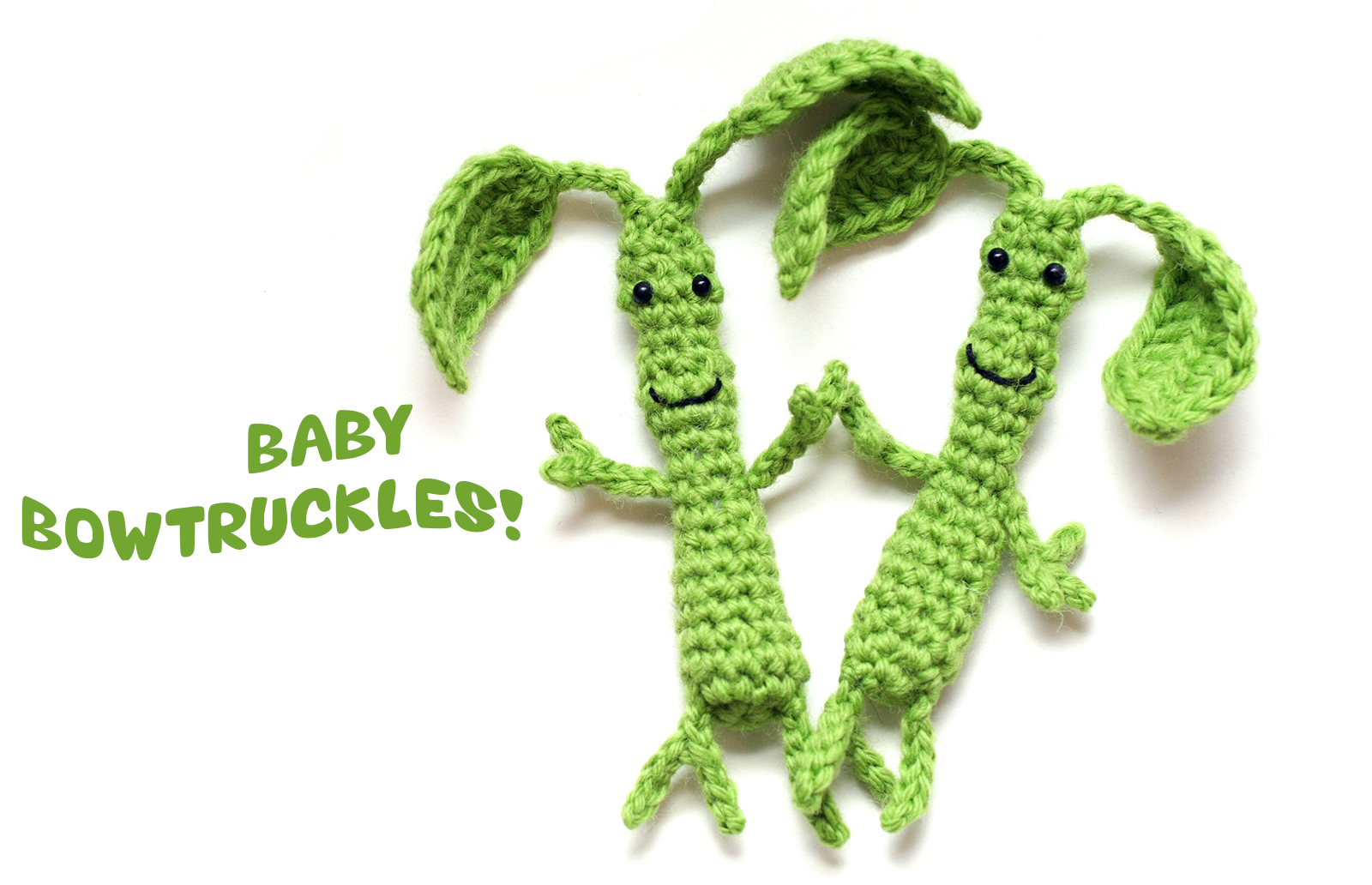 Free Crochet Pattern Baby Bowtruckle From Fantastic Beasts
