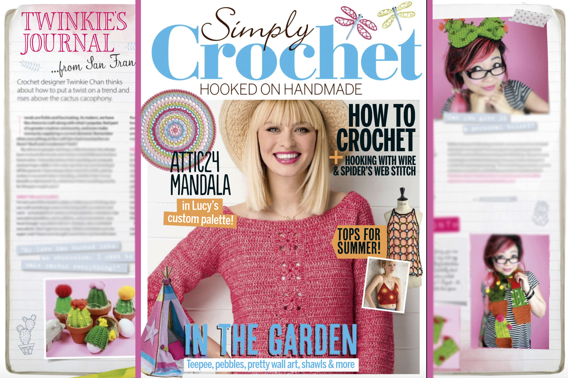 My Guest Column In Simply Crochet Magazine Issue 60 Twinkie Chan Blog