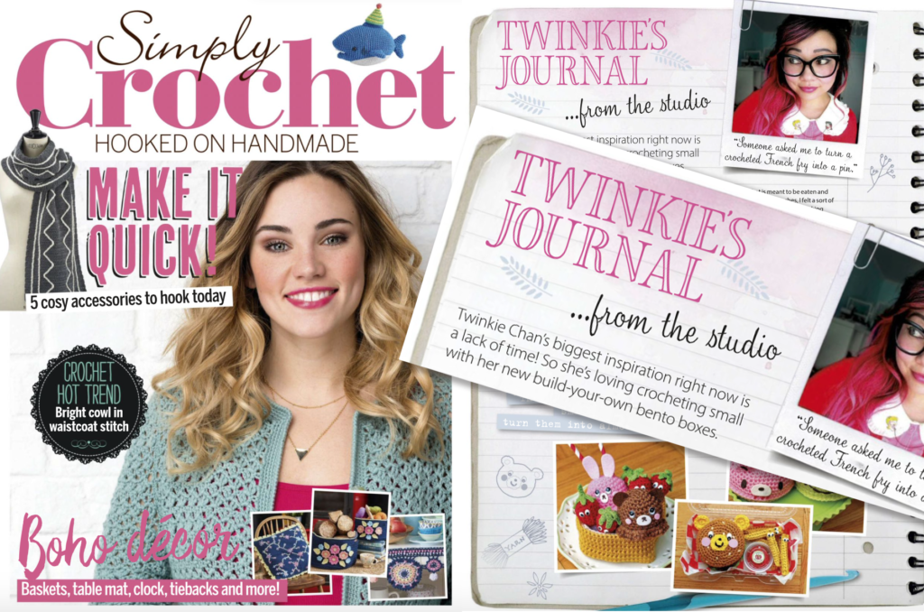 3a09c97376f78 A reader kindly let me know that my 3rd and final guest column for Simply  Crochet Magazine is out now in the UK and online! Info on how to get your  copy ...