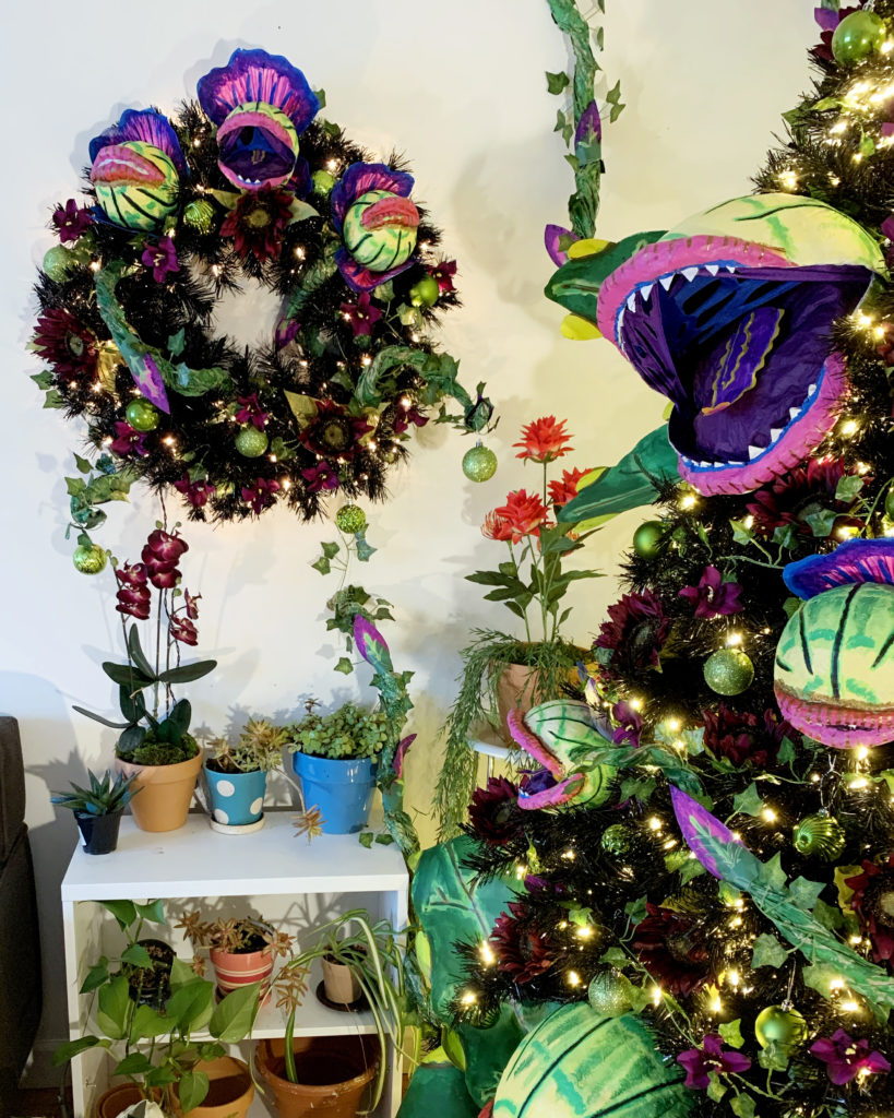 Audrey Ii Halloween Tree From Little Shop Of Horrors Twinkie Chan Blog